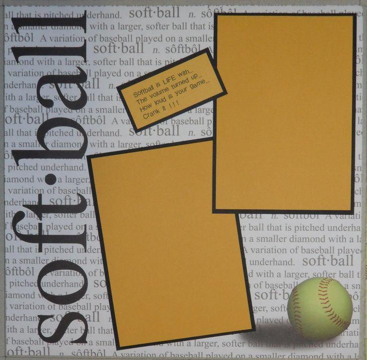 Soft.Ball - Scrapbook.com
