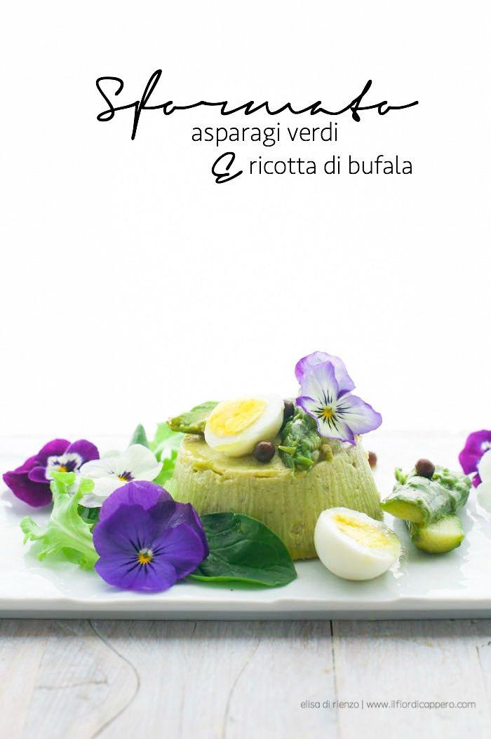 sformato asparagi ricotta di bufala
