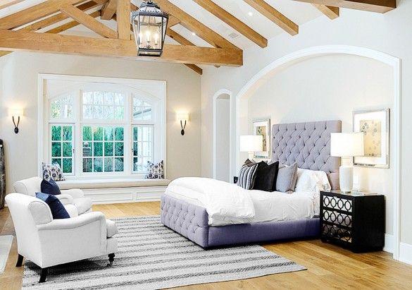 home of kim kardashian & kanye west, master bedroom décor ...