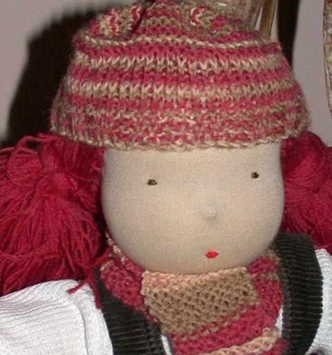 Lilla baba waldorf leányzó sok ruhával - Rendelhető, Játék, Baba, babaház, Plüssállat, rongyjáték, Játékfigura, Meska