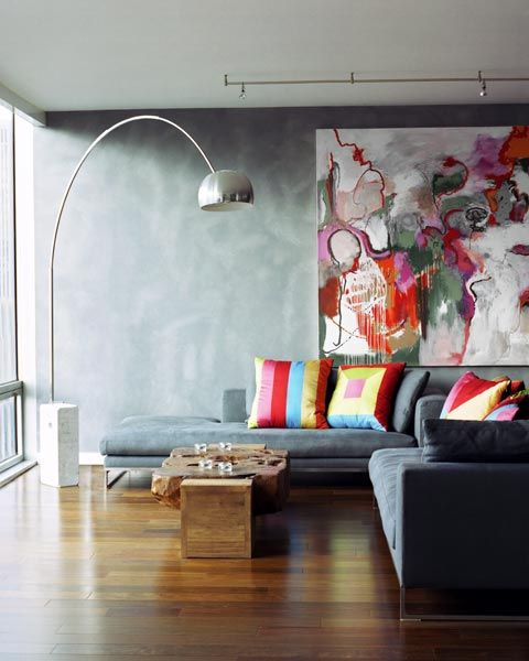 greys + colours via Joseph De Leo