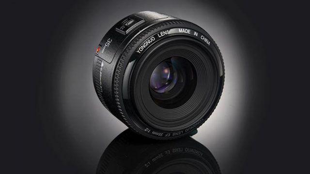 Yongnuo 35 mm f/2 para Canon menos de 100 euros para una gran lente