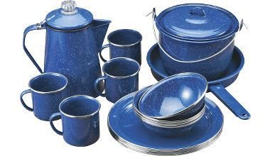 Blue Speckled Cookware | Camping Outdoor Cooking Camp Cookware You are Here: GSI Outdoors ...