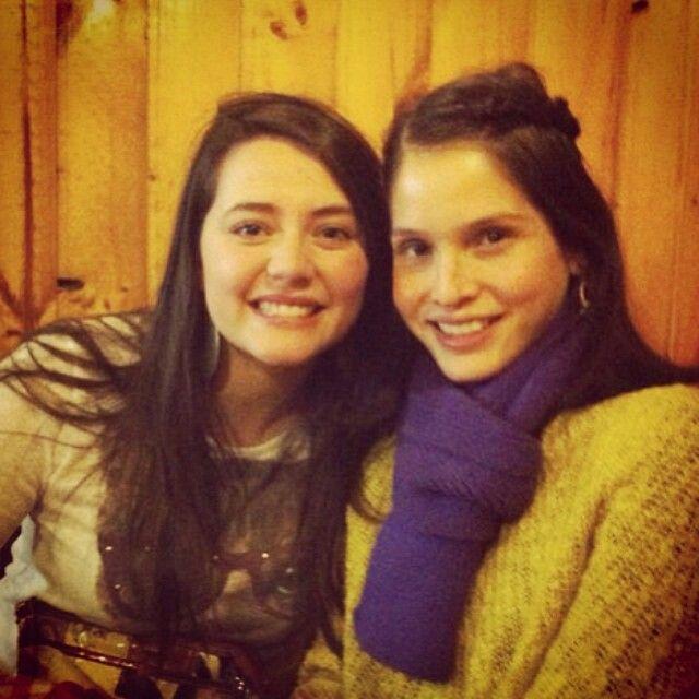 Carolina con magda la amistad es maravillosa