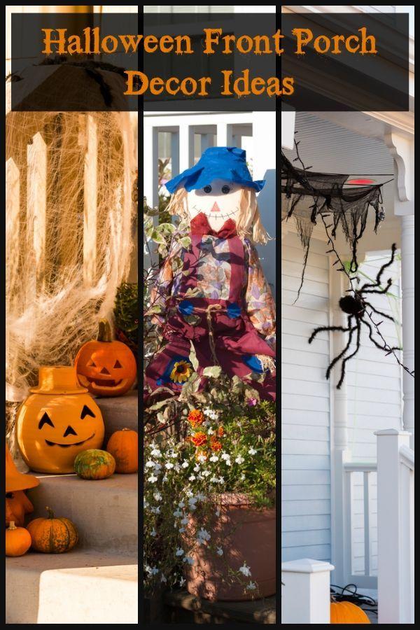 Halloween Front Porch Decor Ideas Halloween Crafts and DIY Decor
