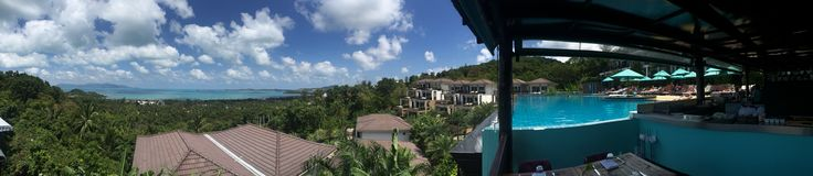 Mantra Samui Resort, restaurant view. Koh Samui, Thailand