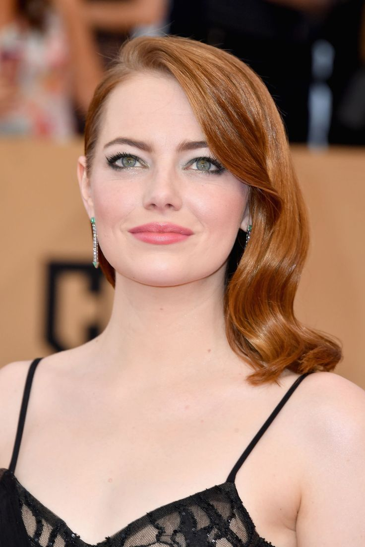 Emma stone iphone wallpaper tumblr - Emma Stone The Best Beauty Looks From The 2017 Sag Awards January 2017