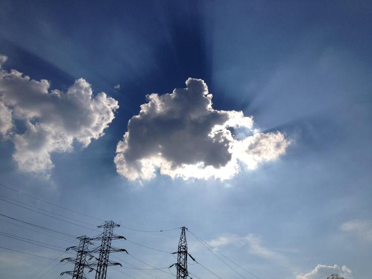 #niebo #sky #chmura #Koszutka #Katowice