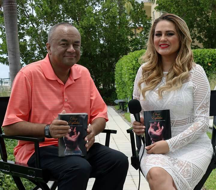 Entrevista sobre mi novela Doce de Espadas para Telemundo