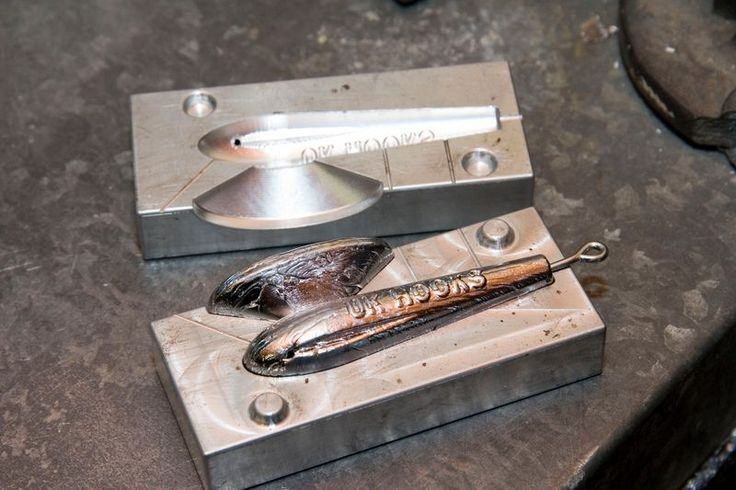 how to make fishing spoon weights