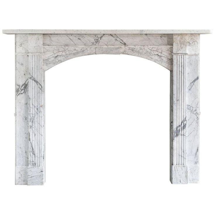 1stdibs Carrara Marble William Iv British Fireplace / Mantel