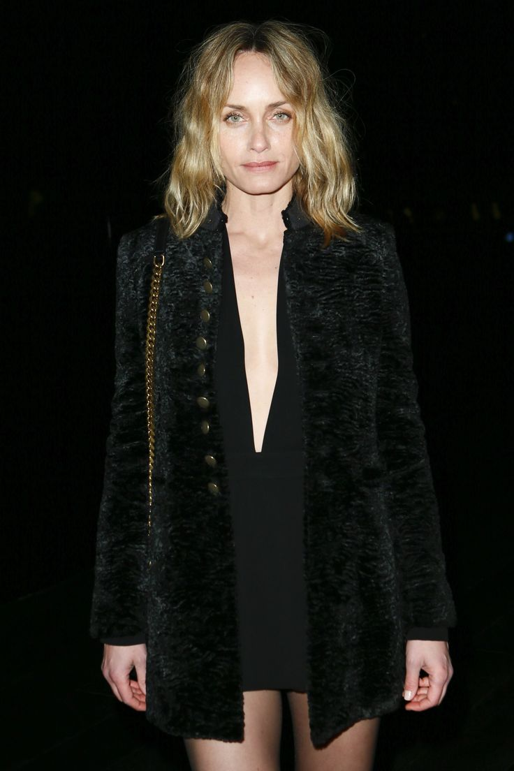 Amber Valletta at Saint Laurent