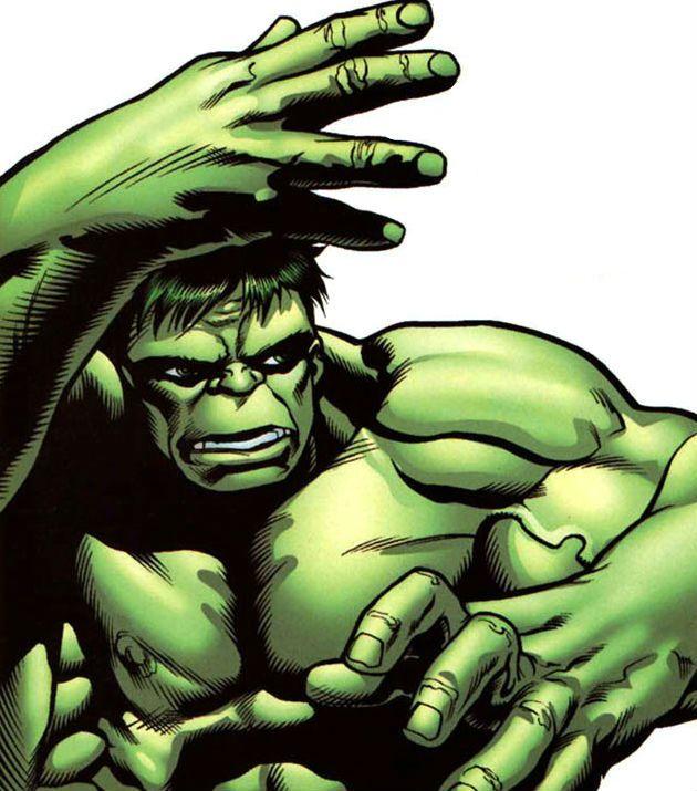 Hulk (Bruce Banner) by Steve Scott