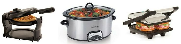 *HOT* FREE Crock-Pot, Presto Griddle, Bella Panini Maker, Waffle Maker (REG $40 EACH!) - Raining Hot Coupons