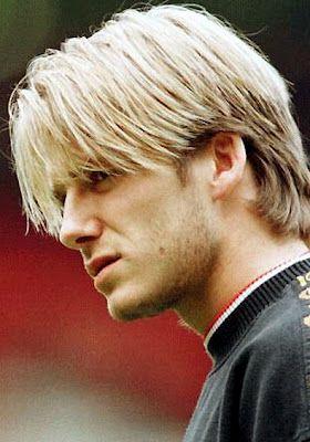 David Beckham Young