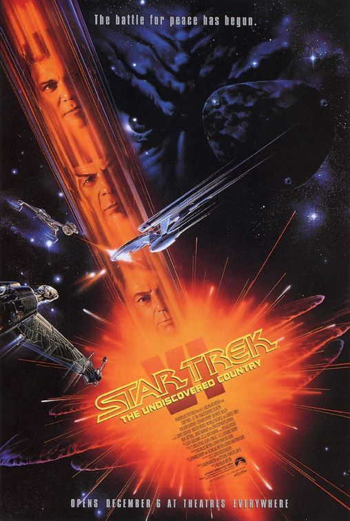 Star Trek VI The Undiscovered Country Theatrical Release Poster 1991