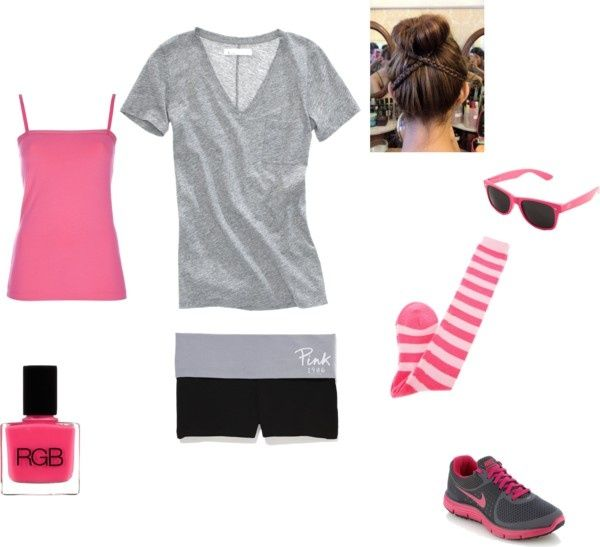 """Volleyball Outfit"" by kenna99 on Polyvore"