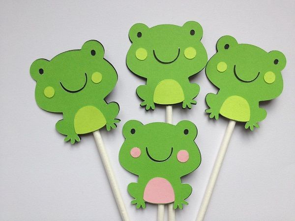 frog baby shower decorations - Google Search