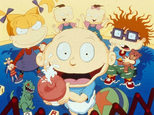 rugrats! watched a lot of this