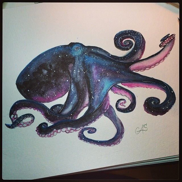 Cosmic octopus --Galactopus