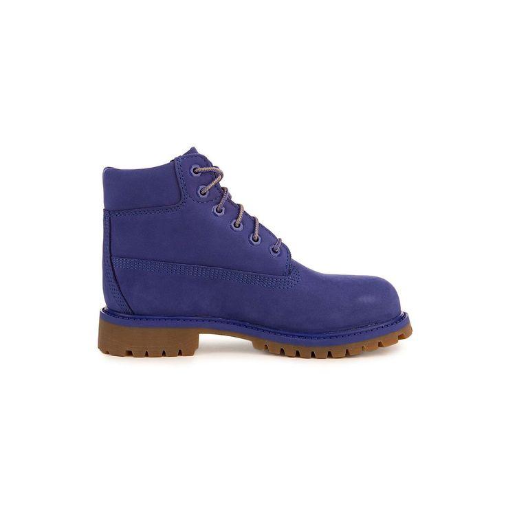 Timberland 6 Inch Premium Waterproof Little Kids/Preschool Boots Blue  tb0a1p5y 2 M US