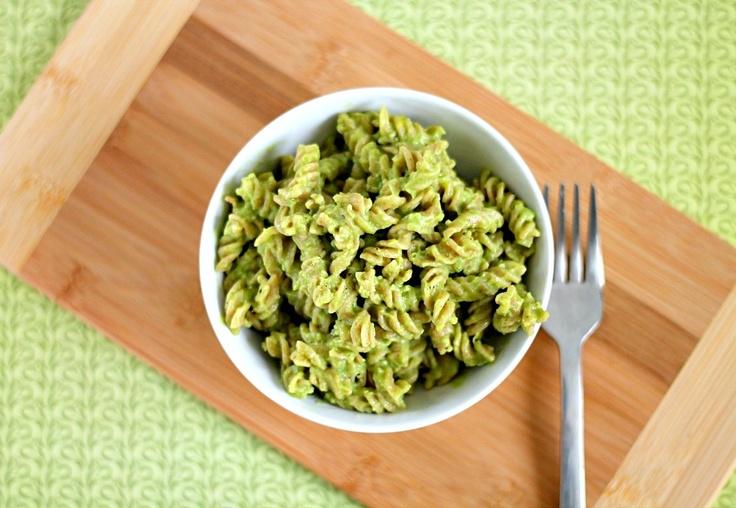 15 Minute Creamy Avocado Pasta - an easy, healthy recipe for avocado ...