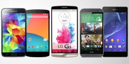 Samsung Galaxy S5, HTC One M8, Sony Xperia Z2, Google Nexus 5 ή LG G3 [Ψηφοφορία] - Techmaniacs