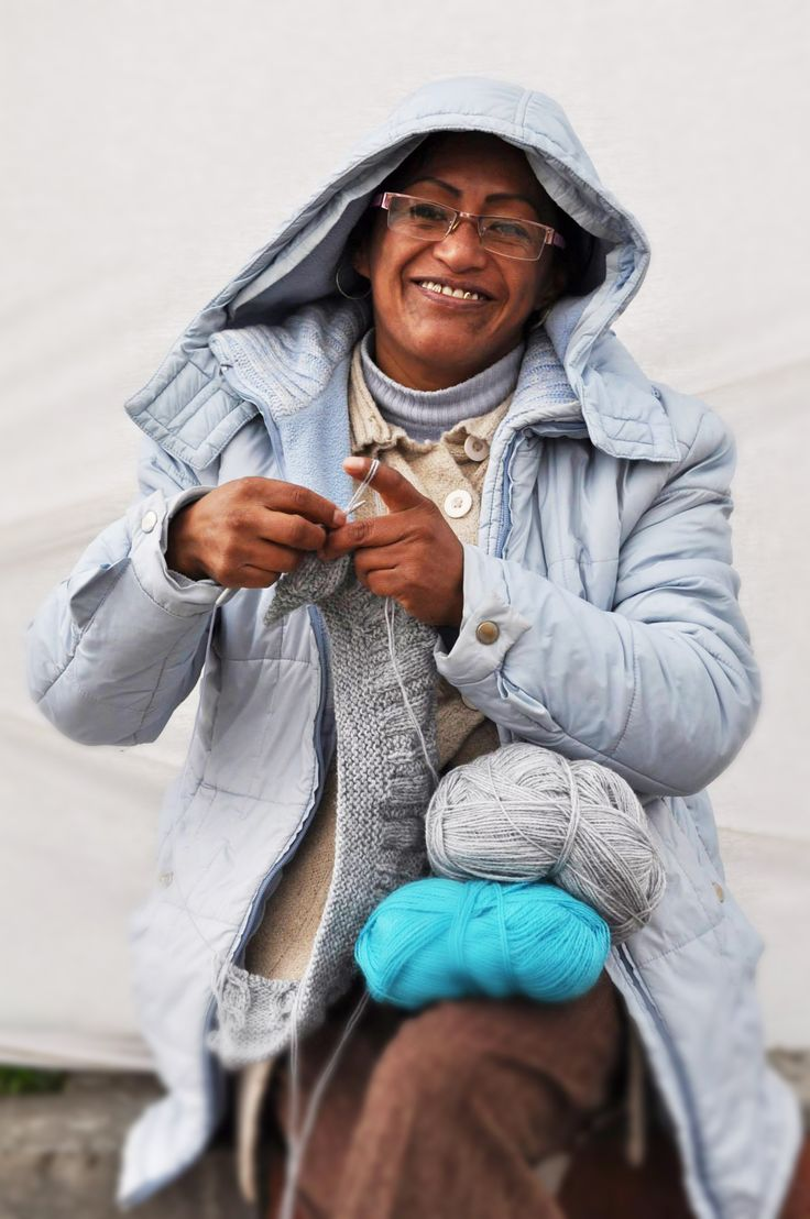 Meet Ruth Mamani. She is a single mother with three children. She is responsible for knitting the colourful beanies at beyond Beanie. Every beanie sale = 5 meals for a child in need in Bolivia. Rock a bB, change a life! Available on kulturebox.co.za