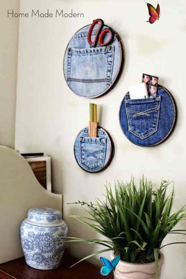 Best Christmas Gifts 2020 For 75 Dollars 75 Dollar Store Crafts Dollar Store Crafts   Denim Pocket