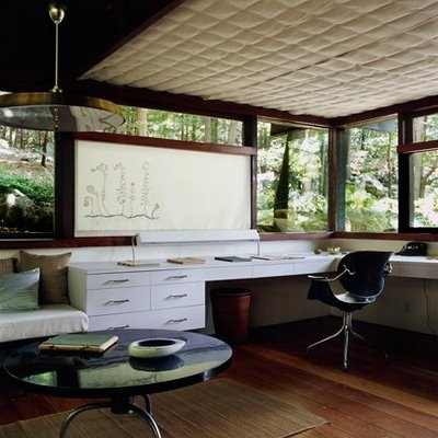 Russel Wright's house (Garrison, NY) http://www.russelwrightcenter.org/redesign/home.html GROSS & DALEY PHOTO: MANITOGA,