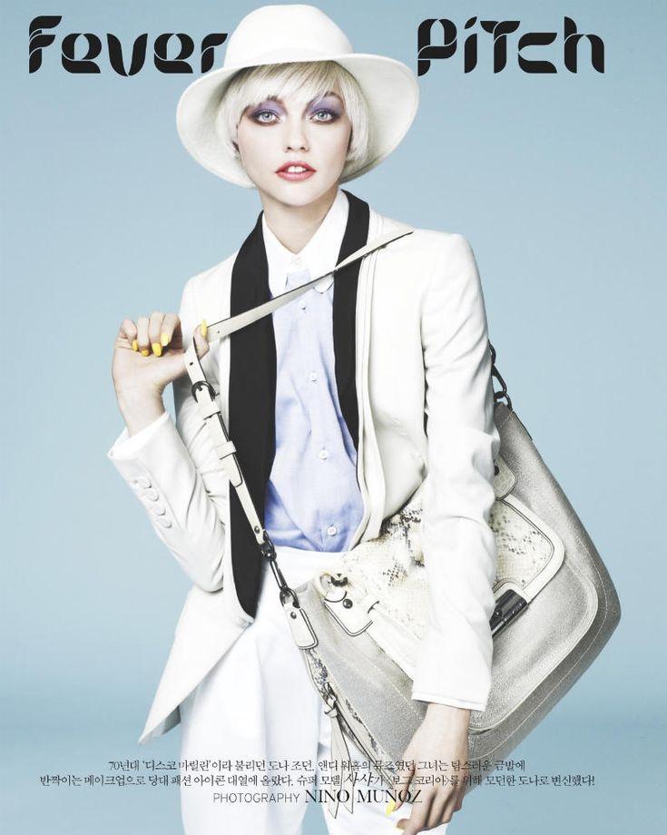 Sasha Pivovarova for Vogue Korea April 2011 by Nino Muñoz