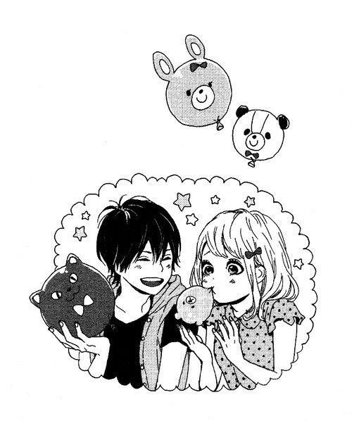 Kawaii Naho & Kakeru *-* Manga Orange by Ichigo Takano