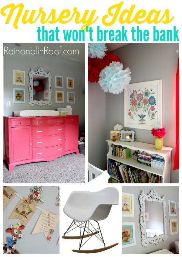 Yes! A nursery that will actually grow with a kid, so that you aren't wasting so much money! 9 nursery ideas