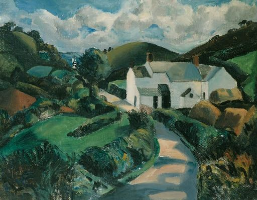 Christopher Wood, The White Farm