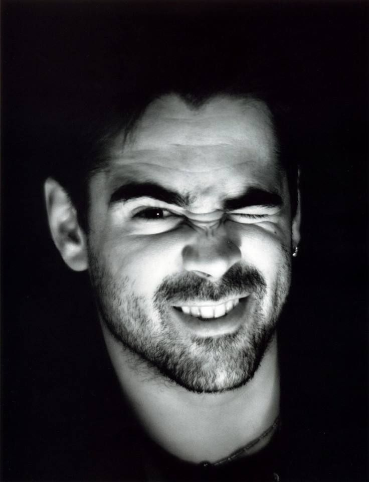 Colin Farrell - Should always have full scruff instead of that partial goatee like beard he wears.
