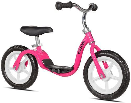 Balance Bike Classic Kids No Pedal Learn To Ride Pre Bike Footrest HOT Pink Check this Balance Bike Kids No Pedal Footrest #BalanceBike #Kids #NoPedal #LearnToRide #PreBike #Footrest #HOTPink