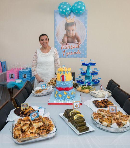 Kürşad'ın Prens Temalı 1 Yaş Doğum Günü Partisi | elitstil.com