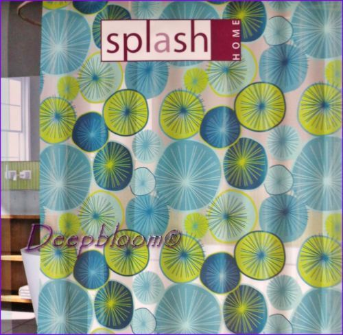 Daisy stitch turquoise bathroom accessory set - 1000 Images About Shower Curtains On Pinterest Vinyls