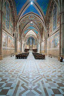 Basilica of San Francesco d'Assisi, Assisi, Italy