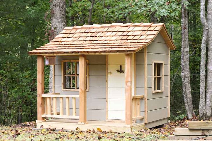 children's wooden outdoor playhouse 1