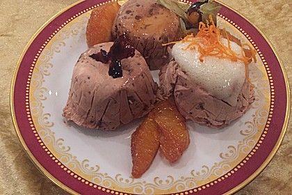 Lebkuchenparfait mit Rotweinbirne 1