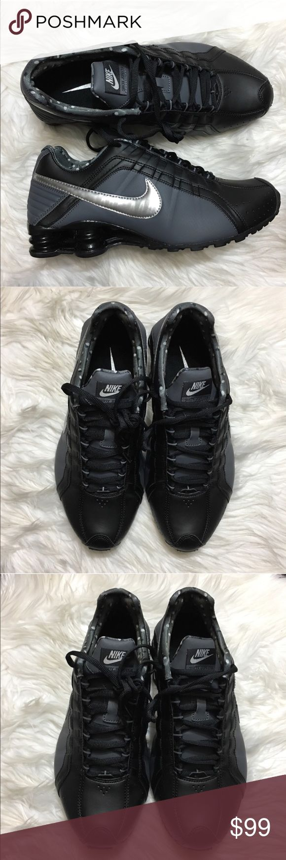 ⚡MAKE A OFFER⚡ Nike Shox Junior BRAND NEW- ORIGINAL BOX NO LID  ✅PRICE CAN BE NEGOTIATED THROUGH OFFER BUTTON                                                                                                             ✅NEXT DAY SHIPPING ✅BUNDLES DISCOUNT                                                                 🙅🏻 NO TRADES 🙅🏻NO LOWBALLING Nike Shoes Athletic Shoes