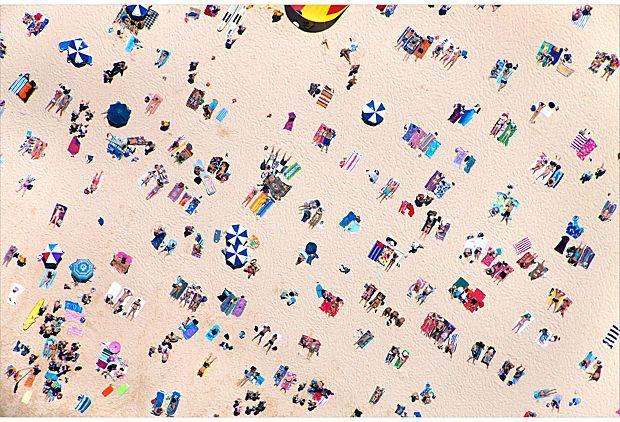 Bondi Beach sunbathers 2