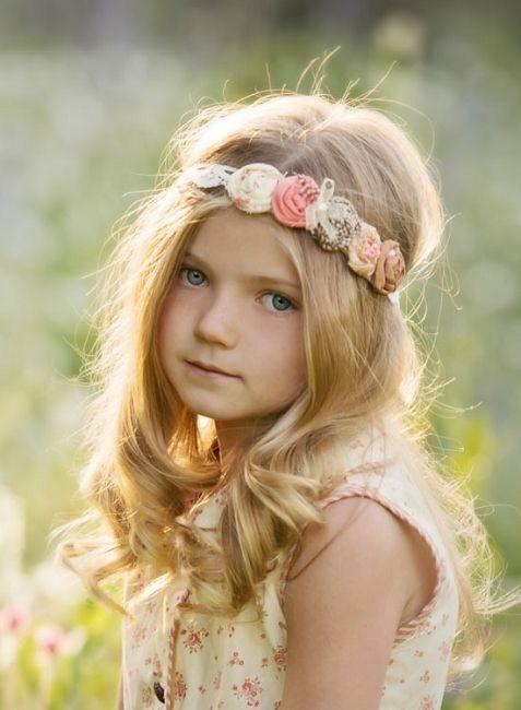 Persnickety Apple Blossom Goldilocks Headband *Preorder*