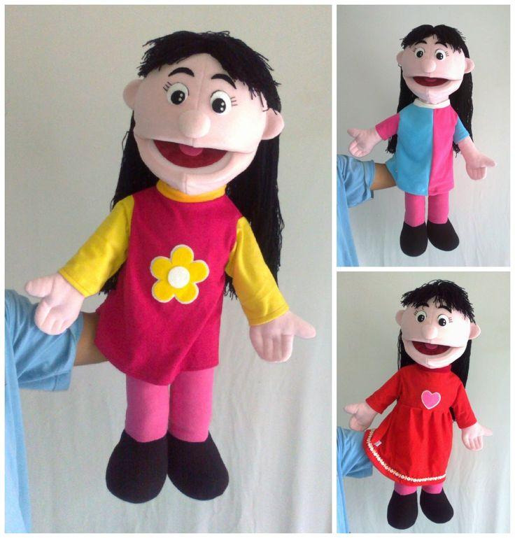 Boneka Tangan Muppet Style 70cm (standart) | Tsabita Boneka & Puppet