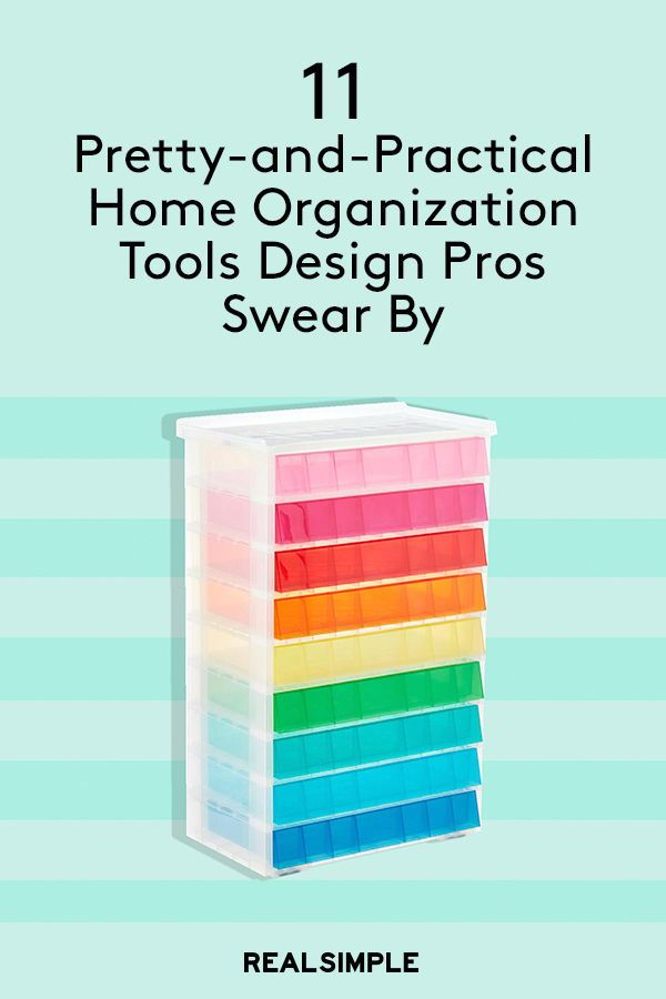 11 Pretty And Practical Home Organization Tools Design Pros Swear By Tool Organization Tool Design Home Organization