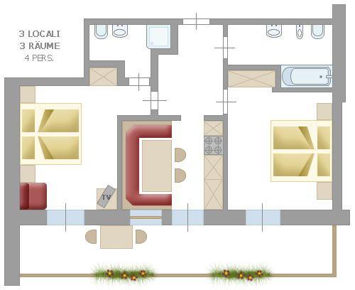 Apartamenty Thaler Ulrich Gröden - Ortisei Val Gardena