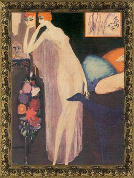 Marchesa Casati by Kees Van Dongen, c.1915