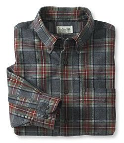 #LLBean: Men's Scotch Plaid Flannel Shirt, Traditional Fit, Prince Charles of Edward