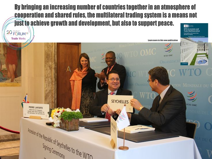 Launch event photos now available, visit www.wto.org/PF15 ‪#‎wto‬ ‪#‎wtoat20‬ ‪#‎PF15‬